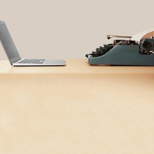 Il lavoro dalla macchina da scrivere al computer