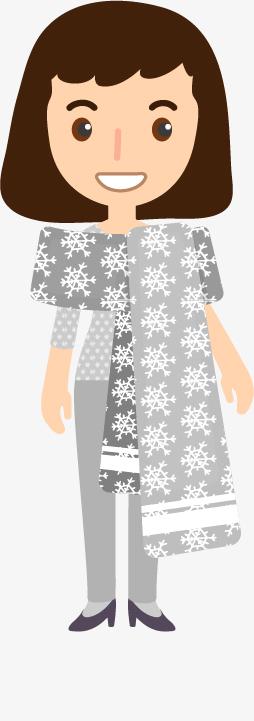 Caricatura a tema Natale di Monica