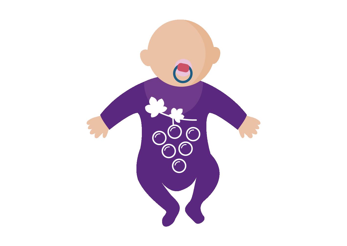 Infografica nascite 2017 kit baby felice
