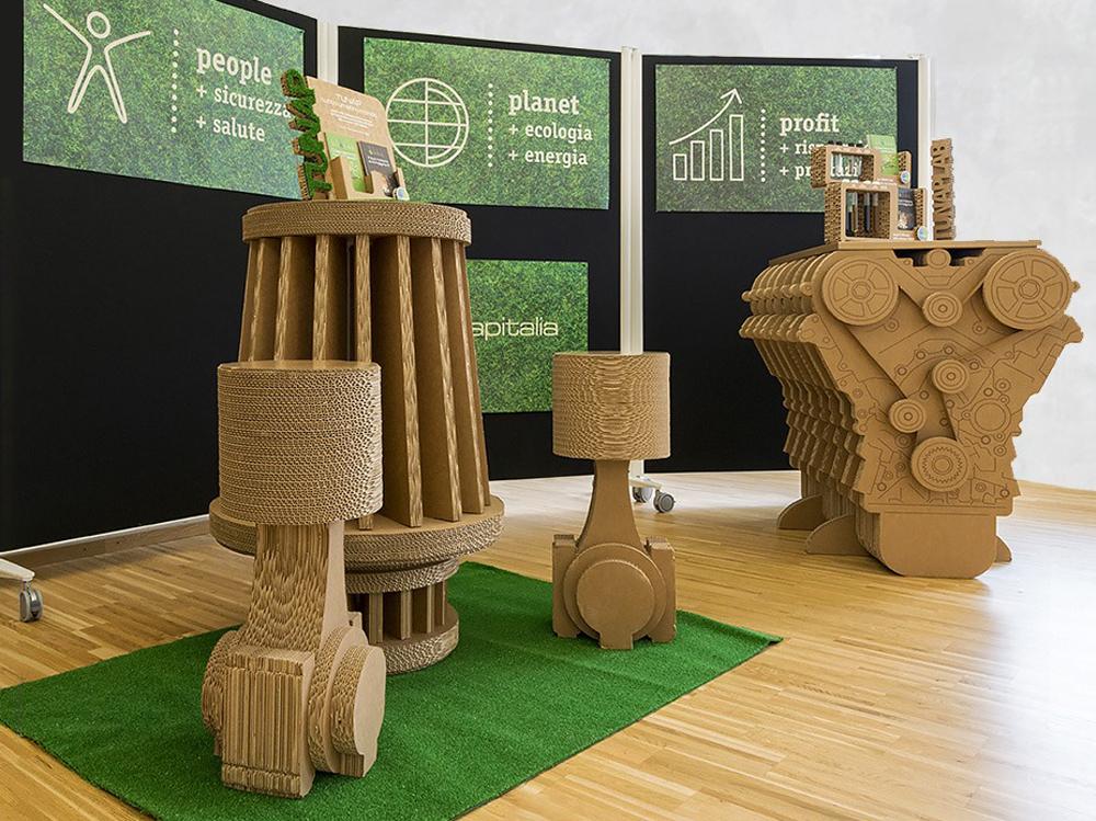 agenzia sostenibile cartone alveolare tunap green